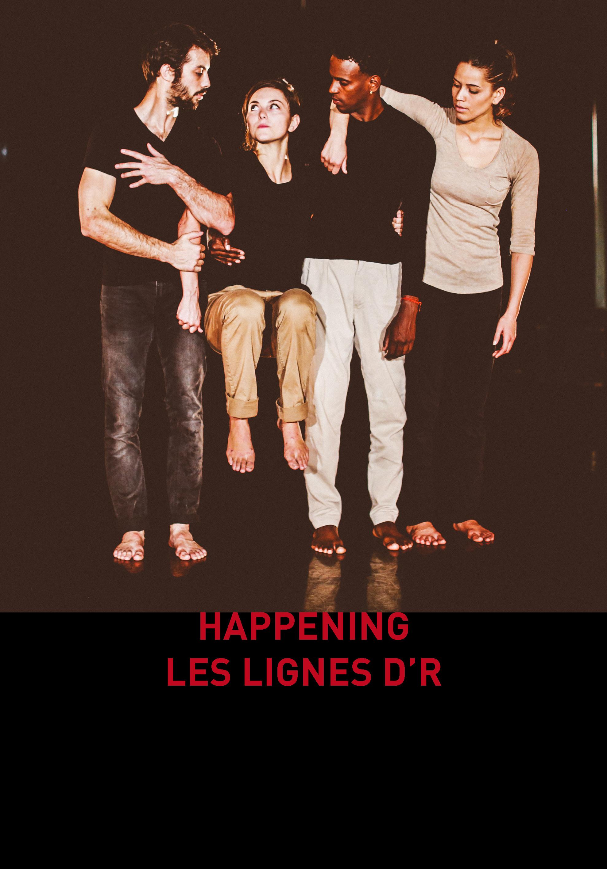 Happening Les Lignes d'R au festival Danse Péi